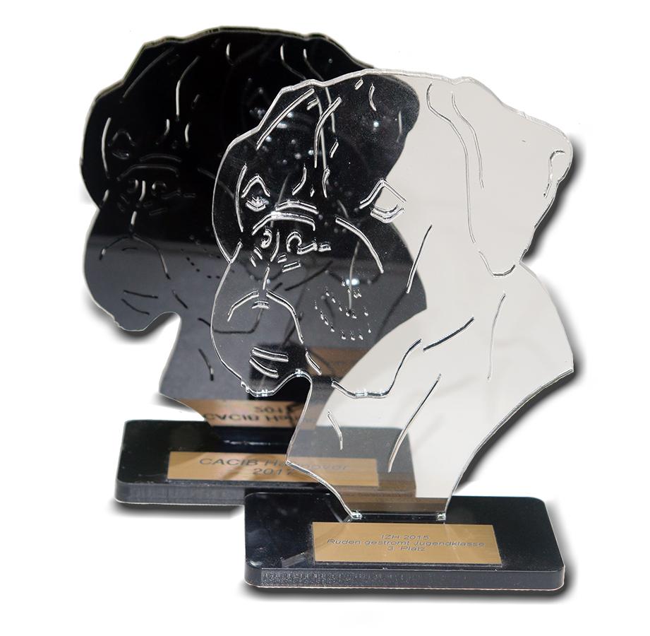 Pokal Boxer Kopf
